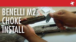 Benelli M2 Choke Install