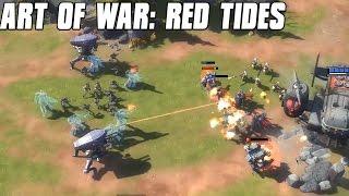 Art of War: Red Tides Gameplay Asterion Assault