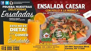 Caesar salad with chicken - ensalada cesar con pollo