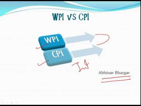 Difference between WPI and CPI  (In 3mins)