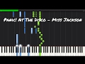 Panic At The Disco Miss Jackson Piano Tutorial mp3