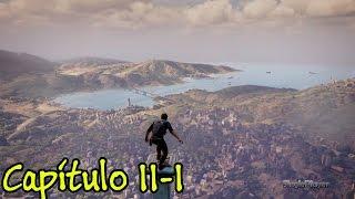 Uncharted 4 - Debaixo do Nariz - Capítulo 11 - Parte 1 - PS4 - Gameplay em Portugues PT-BR