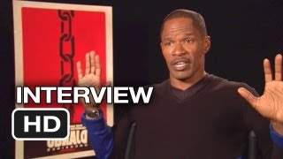 django unchained jamie foxx interview 2012 quentin tarantino movie hd