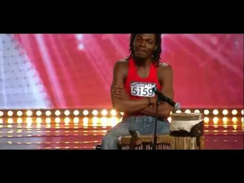 "Norske Talenter 2012 - Audition - ""Davidy Mponda"" - Stavanger"