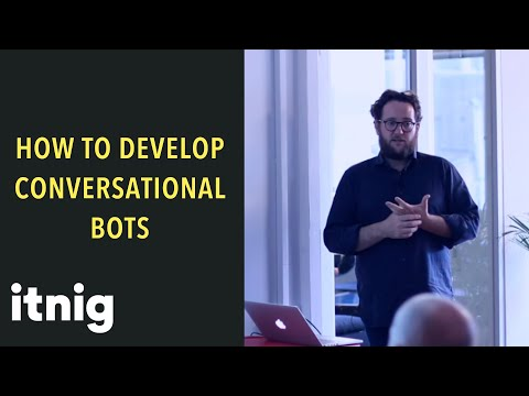 How to develop truly conversation bots with Caravelo co-founder JoseLuis Vilar