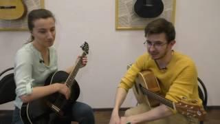 Урок игры на гитаре #5  СПЛИН  Романс  подробный разбор