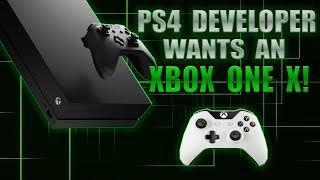 HUGE PS4 Exclusive Dev Asks Phil Spencer For An Xbox One X! He Wants True 4K Power!