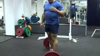 М.Кокляев рассказывает про становую тягу.deadlift.