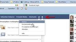 Wie kann man die Facebook Nachrichten ausschalten? (Toturial)