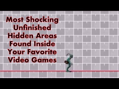 Most Shocking Unfinished Areas Found In Video Games