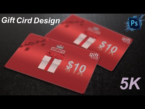 How To Create Gift Card Design In  Photoshop Tutorial /Tech Perfect thumbnail