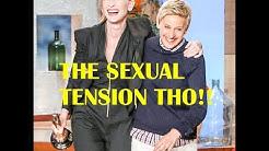 Ellen Degeneres & Cate Blanchett flirting + naughty, cute & funny moments | TheEllenShow