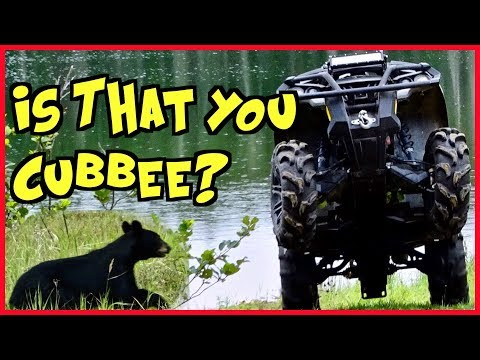 Did You Miss Us? First ATV Ride Of The Year And We Find Cubbee's Cousin!