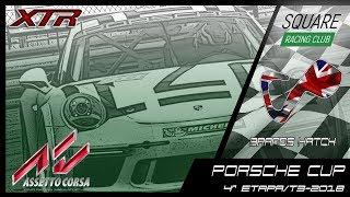 Square Racing Club Porsche Cup @ Brands Hatch - 4ª Etapa T3/2018
