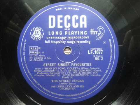 ARTHUR TRACY (THE STREET SINGER) - 7 I
