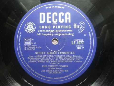 ARTHUR TRACY (THE STREET SINGER) - 7 I
