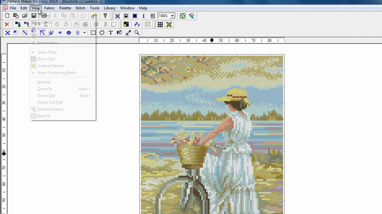 How To Make Your Own Cross Stitch Pattern Cool Decorating