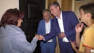 Familja 9 antareshe e Selvete Brahimi nga Mitrovica behet me banes te re