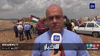 وقفة في إربد رفضاً لخط غاز الاحتلال - (8-9-2018)