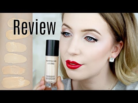 Bare Minerals BarePro Foundation Review | The Palest Shade