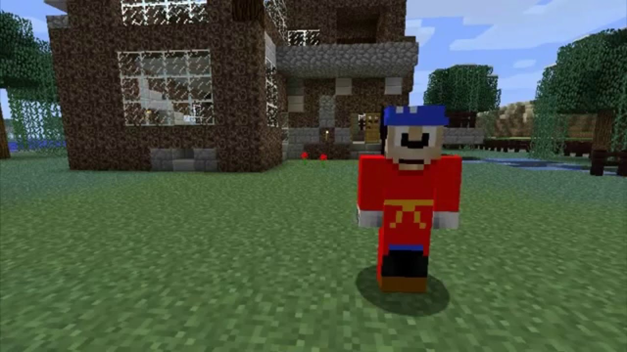 minecraft skins mickey mouse sorcerer youtube