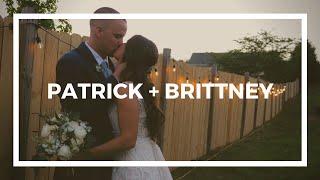 Patrick + Brittney Wedding Film | Family Residence | Vinton, VA