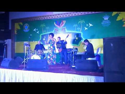 Brazilian Week at Dhaka Regency   Inauguration Ceremony   Performed By Juzz Music Indiana Nomma # 2