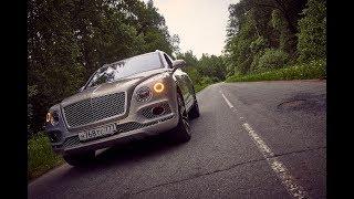 Офицальное видео Bentley Bentayga 2016