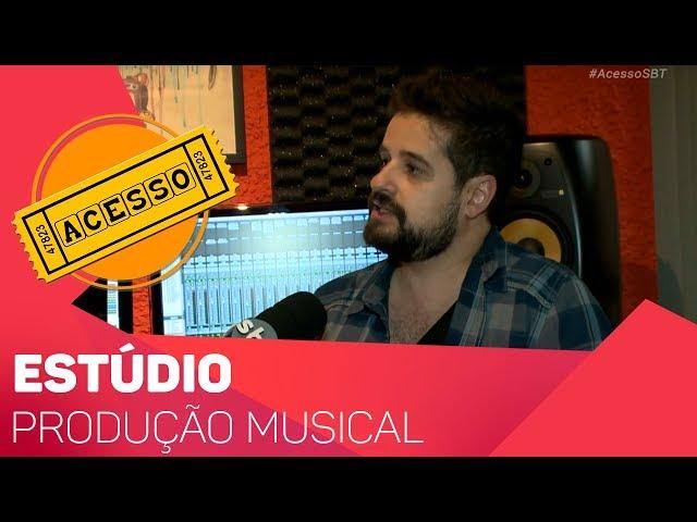 Entrevista sobre Produção Musical - TV SOROCABA/SBT
