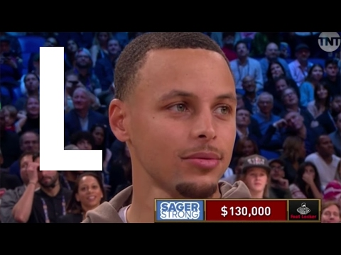 Steph Curry ROASTED Over 0-for-9 Half-Court Shot in Craig Sager Fundraiser at 2017 All-Star Weekend