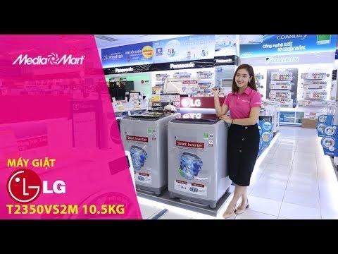 Máy giặt 10,5Kg LG T2350VS2M Smart Inverter – Giặt mạnh mẽ, không tốn điện