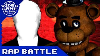Freddy Fazbear vs. Slenderman - Video Game Rap Battle