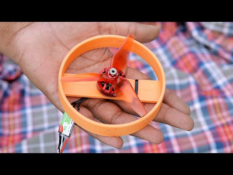 Awesome DIY idea with Brushless DC Motor