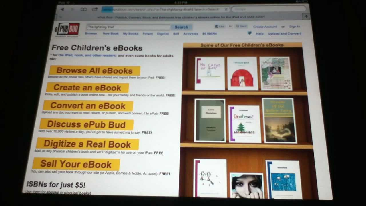 HOW TO FREE EBOOKS ON IPAD EPUB