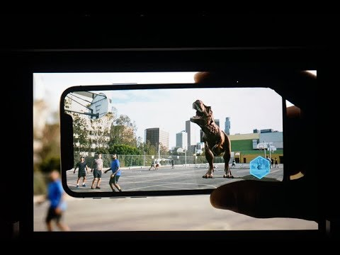 Apple shows off breathtaking new augmented reality demos on iPhone 8