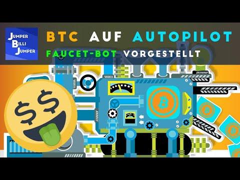 Automatisiert Bitcoins verdienen - Faucet Bot deutsch