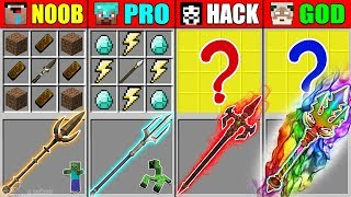 Minecraft NOOB Vs PRO Vs HACKER Vs GOD AB L TY TR DENT CRAFT NG MUTANT MONSTER CHALLENGE Animation
