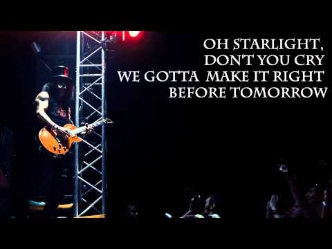 Starlight by Slash (With Lyrics)
