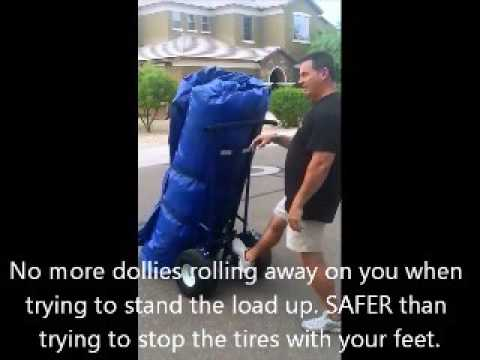 Inflatable Dolly - Move Heavy Inflatables With Ease! & Inflatable Dolly - Move Heavy Inflatables With Ease! - YouTube