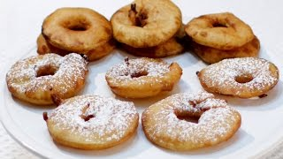 How to make Apple Fritter Rings