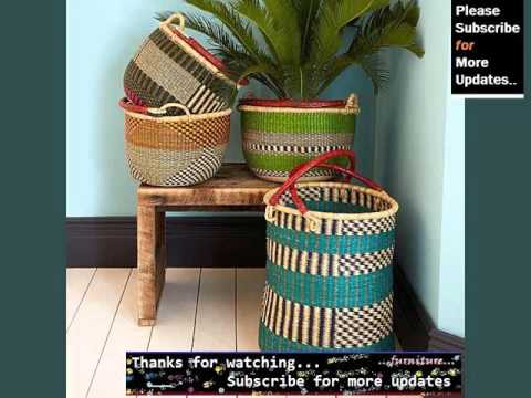 Wicker Storage Baskets Designs | Wicker Furniture Ideas