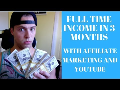 How He Made A FULL-TIME INCOME From Affiliate Marketing & YouTube (Student Success Story)