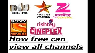 how to install dd free dish in hindi