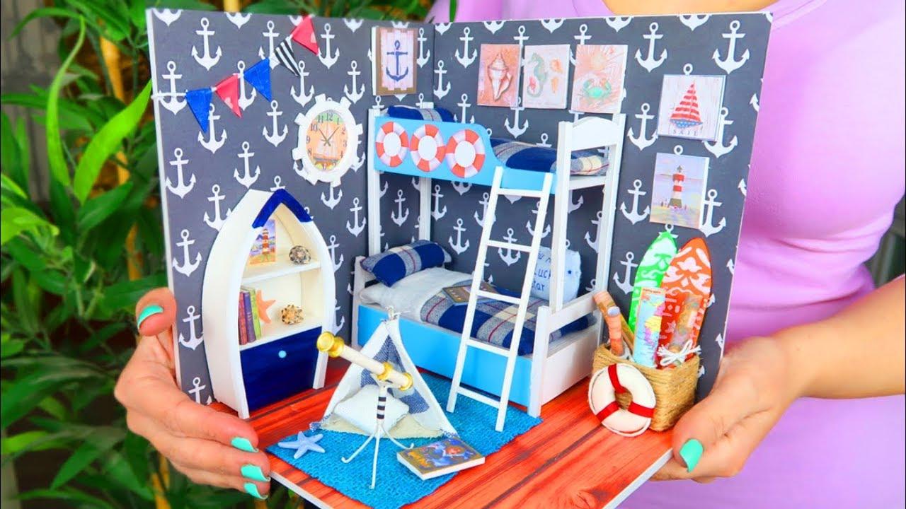 Casas Miniatura Para Diy Habitación Muñecas De En 2EDHI9