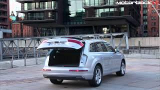 видео Свежий немецкий гибрид Audi Q7 e-tron 3.0 TDI Quattro