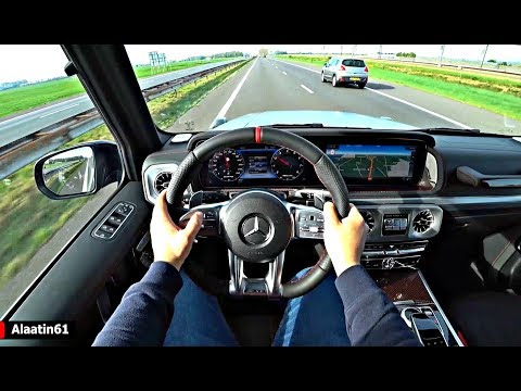 The Mercedes G Class G63 AMG 2019 Test Drive