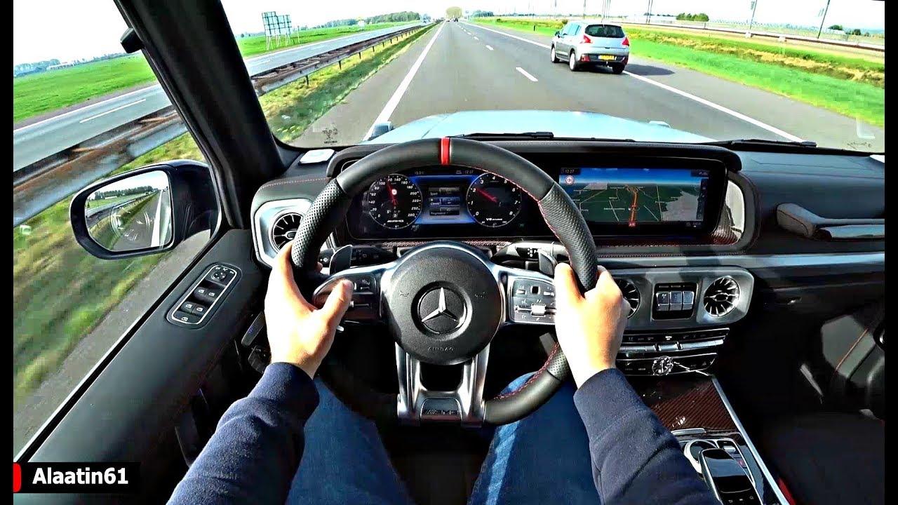 The Mercedes G Class G63 AMG 2020 Test Drive