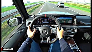 The Mercedes G Class G63 AMG 2020 Test Drive