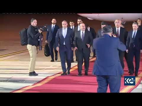 Turkey's FM lands in Kurdistan Region, meets with PM Barzani