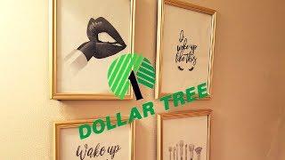 $1 Bathroom Wall Art Decor | Dollar Tree DIY| Mommy on a Budget